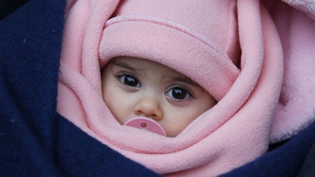 abrigar a un recién nacido