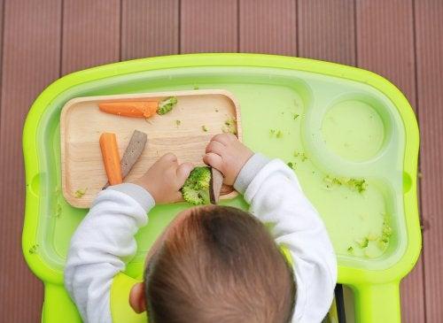 Según los expertos, muchos padres tardan demasiado en dar alimentos no triturados a sus bebés