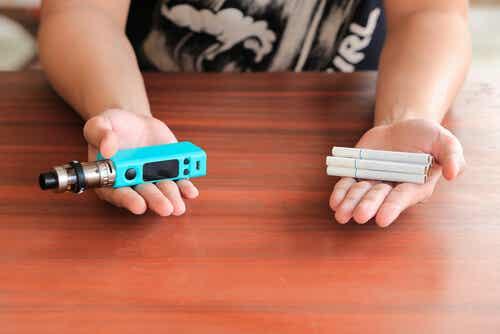 El uso de cigarrillos electrónicos en el embarazo
