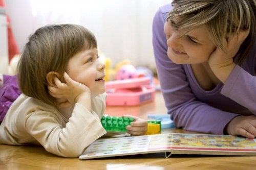 Consulta a tu hijo para decorar la sala de juegos de los niños.