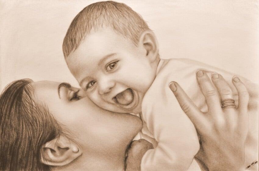 Hay lugares en el corazón que no descubres hasta que amas a un niño
