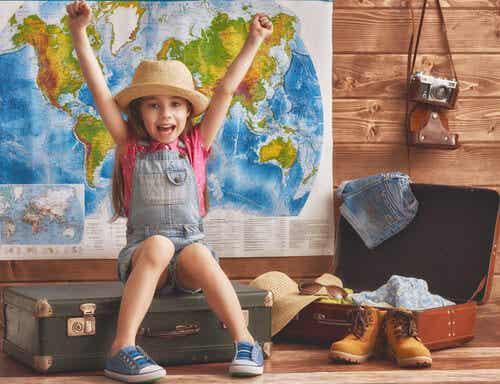 ¿A qué edad puedo llevar a mi hijo de viaje por primera vez?