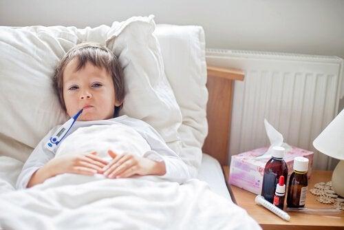 On demande souvent aux pédiatres si certains enfants tombent malades plus facilement que d'autres.