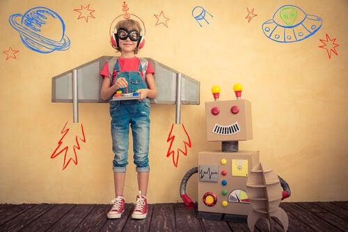 La imaginación de los niños no tiene límites