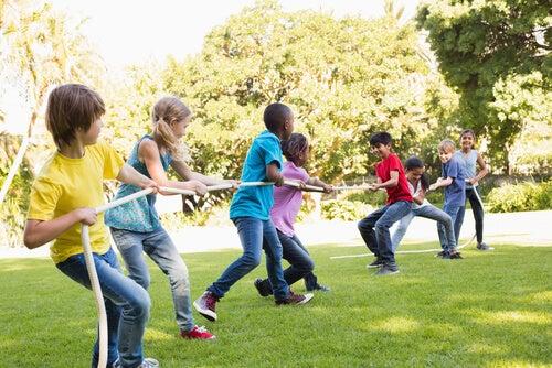 Jugar es una buena manera de aprender divirtiéndose