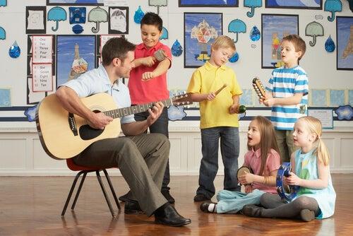 La música estimula la imaginación de los niños