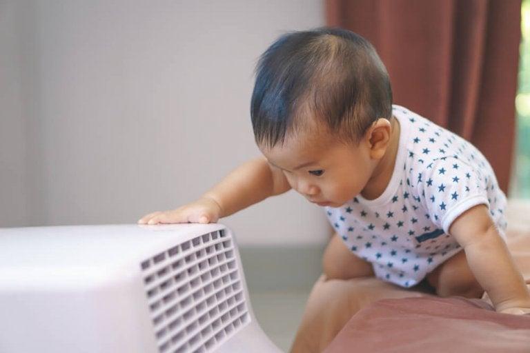 Usos del aire acondicionado cuando tienes un bebé