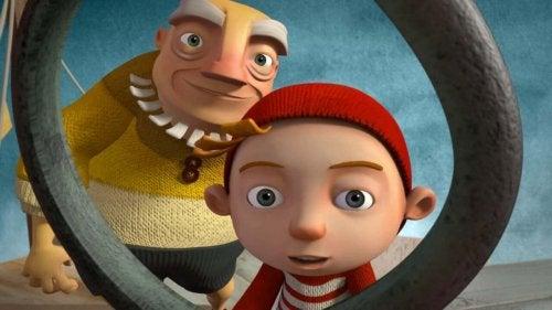 A cloudy lesson, el cortometraje animado