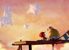 El cortometraje animado A cloudy lesson