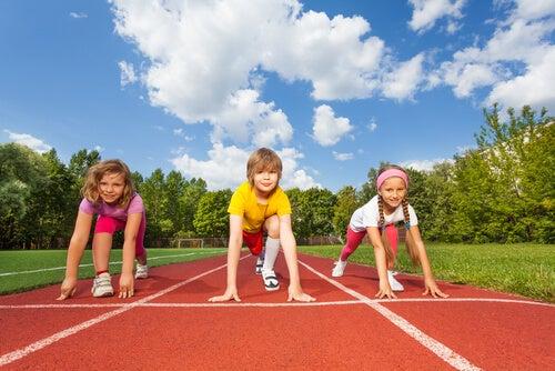 El deporte en los niños es sumamente beneficioso.