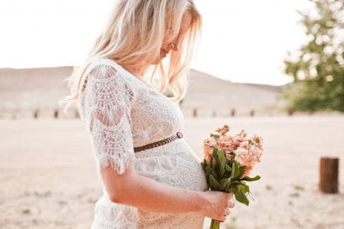 Vestido de novia para embarazadas, ¿cómo elegir?