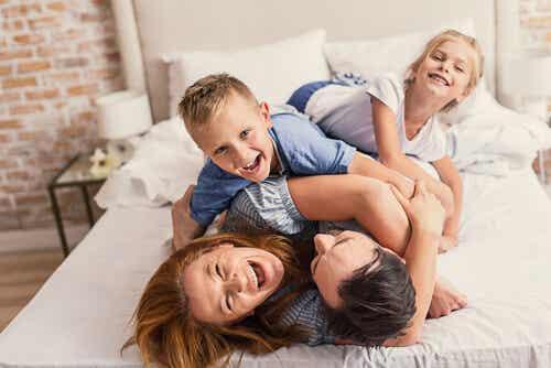 Ayuda a tu hijo a formar una imagen positiva de sí mismo