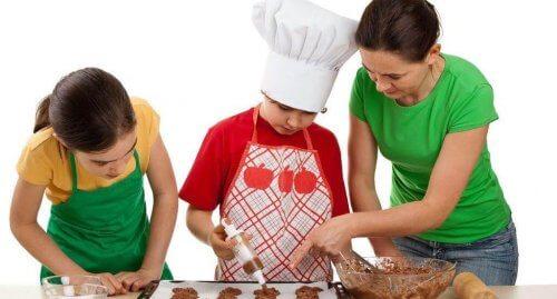 Galletas caseras: prepáralas junto con tu hijo