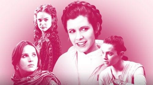 Las mujeres de Star Wars se han convertido en modelos a seguir para las niñas.