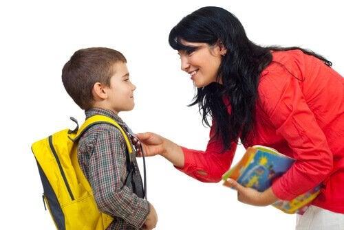 Como padre, debo acompañar al niño en el proceso educativo.