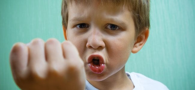 agresividad repentina en el niño