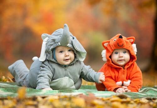 Los disfraces de animales para las fiestas de cumpleaños de los niños pequeños son una excelente opción