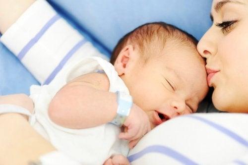 El momento del parto es uno de los más especiales para una madre.