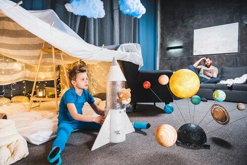 Se puede aprender todo acerca del sistema solar con imaginación