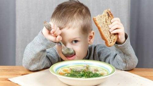 Problemas de alimentación en niños.