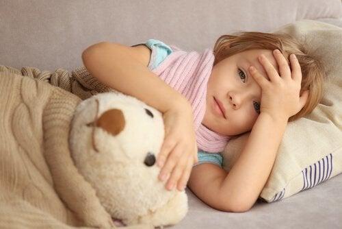Los niños con epilepsia pueden mostrarse somnolientos tras una crisis.