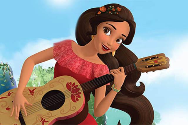 Elena de Avalor, una princesa hispanoamericana de Disney.