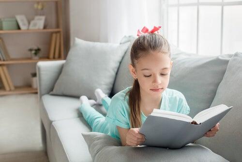Beneficios de la lectura en los niños