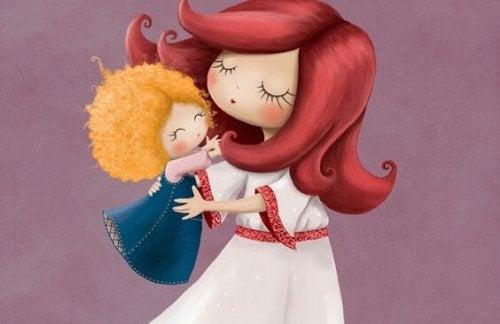Muchas veces lo único que necesita tu bebé es un abrazo.