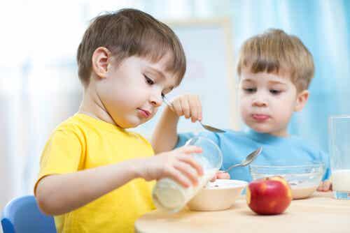 Las 5 mejores meriendas para niños