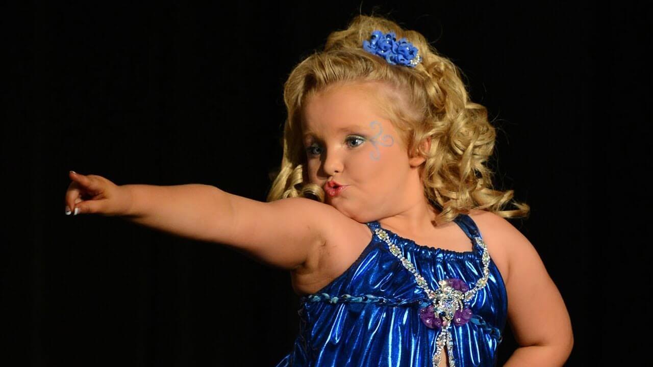 Honey Boo Boo, personalidad de un reality show estadounidense.