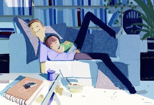 El cariño de un padre no se puede comparar con ningún otro sentimiento.