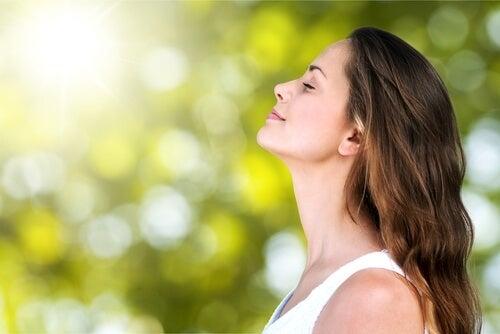 La respiración profunda ayuda también a calmar los dolores de parto.