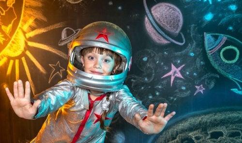 La imaginación en los niños es infinita, pero, ¿qué significa tener un amigo invisible?