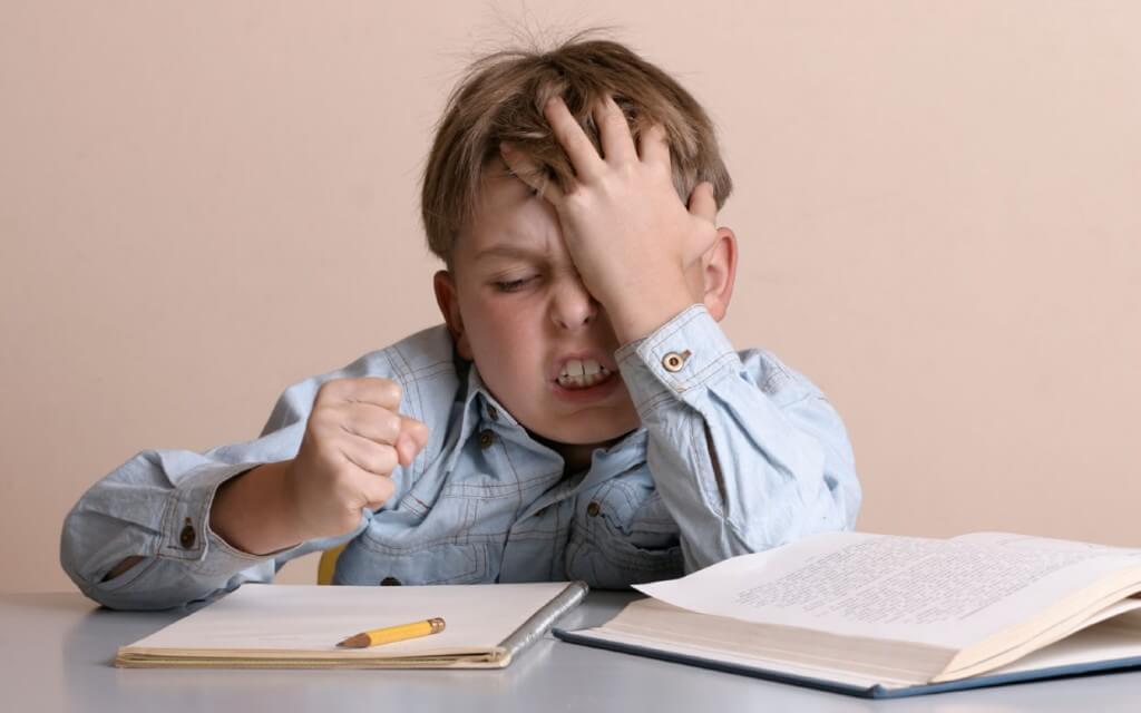 Los niños con baja tolerancia a la frustración reaccionan mal frente a las adversidades.