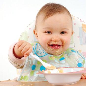 Existen diferentes recetas de papillas para niños.