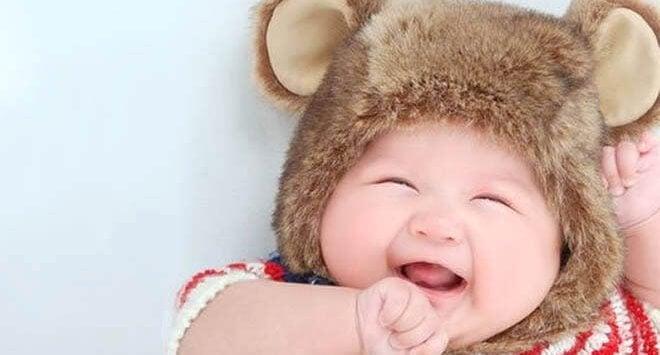 Le cinquième mois de la vie du bébé.