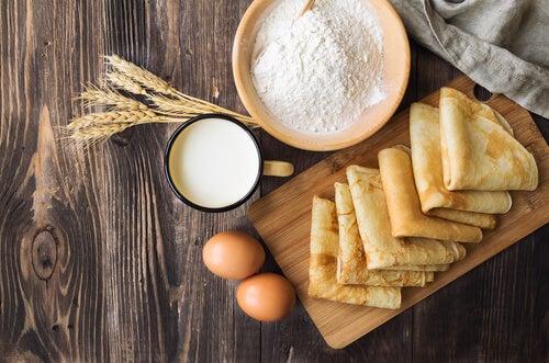 Los crepes sin gluten son un postre apto para los niños celíacos.