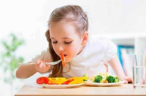 Dieta blanda para niños con problemas estomacales.