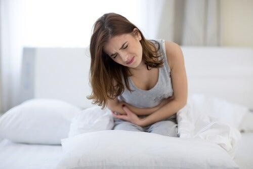 El dolor de la menstruación es muy común.