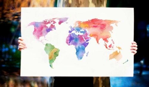Geografía para niños: un mundo por descubrir