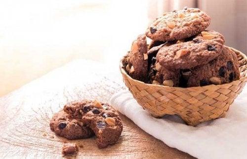 Las galletas de chocolate gustan siempre a los niños.