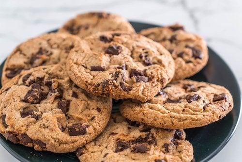 Las galletas sin gluten son fáciles y rápidas de preparar.