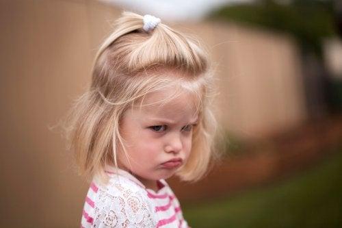 La ira en los niños es la exteriorización de sus sentimientos negativos.