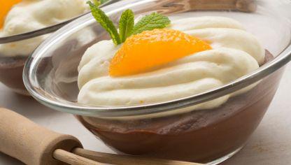 El merengue de naranja es una opción perfecta para postres sin gluten.