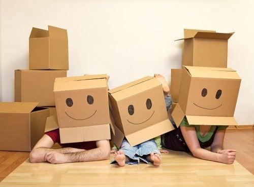 Cómo sobrevivir a una mudanza con niños