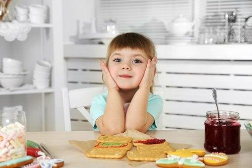 Alimentación en niños con enfermedad celíaca.