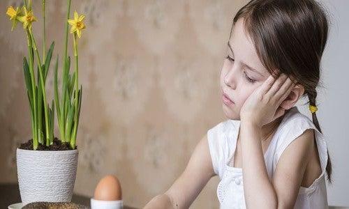 La pérdida de peso en la infancia