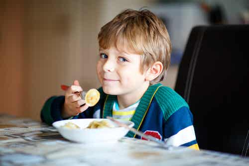 La importancia de comer sano desde pequeños