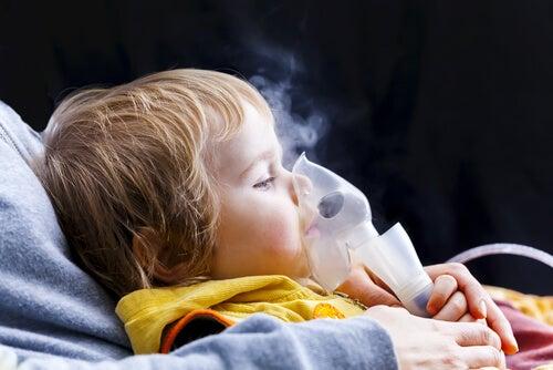 9 síntomas de asma en los niños