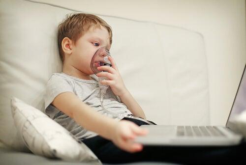 La fibrosis quística en niños